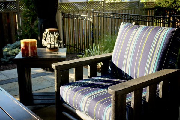 outside patio furniture that's comfortable